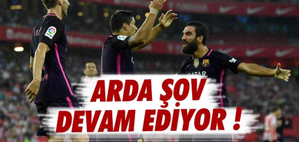 Barcelona 2'de 2 yaptı ! Arda yine şov yaptı...