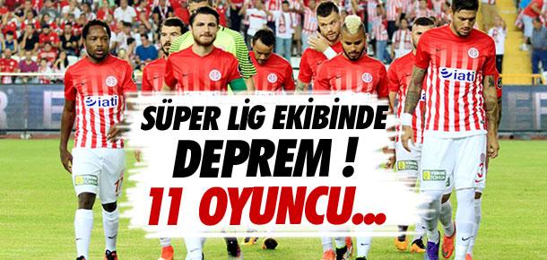 Antalyaspor'da deprem !