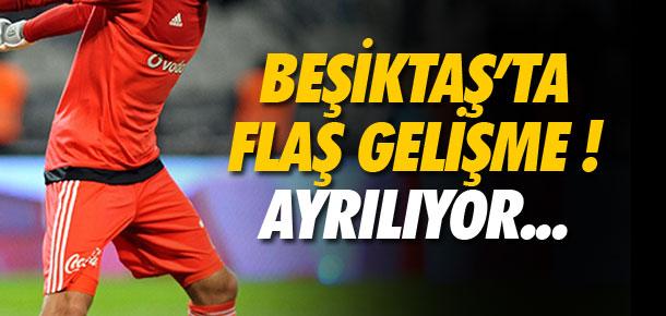 Beşiktaş'ta flaş ayrılık !