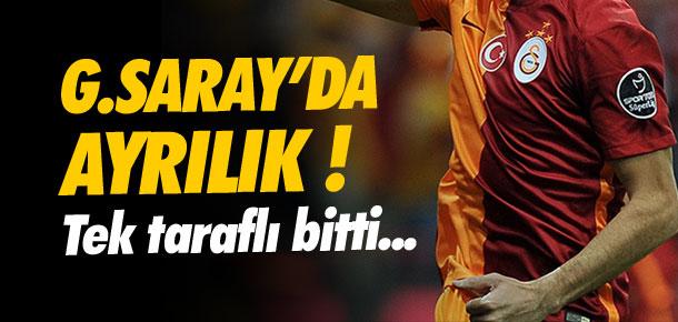 Galatasaray'da flaş ayrılık !