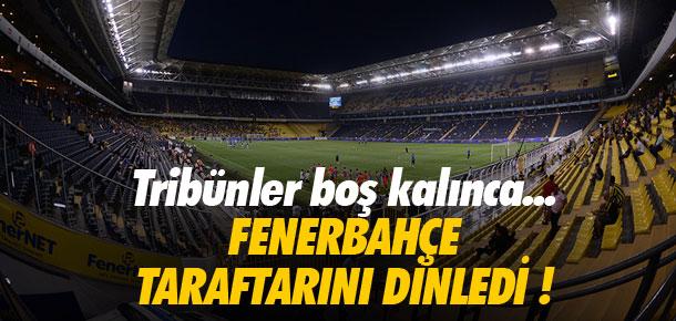 Fenerbahçe taraftarlarını dinledi !