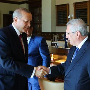 Erdoğan, Kulüpler Birliği'ni kabul etti
