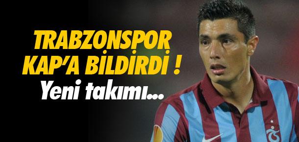 Trabzonspor, Cardozo ayrılığını KAP'a bildirdi