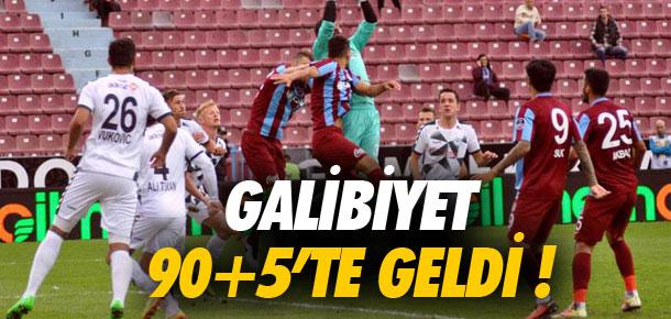 Trabzonspor son dakikada güldü !
