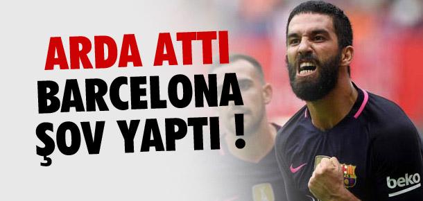 Arda attı, Barcelona şov yaptı
