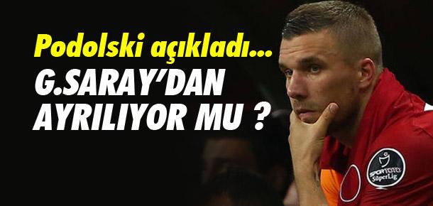 ''Galatasaray'dan ayrılmayı düşünmüyorum''