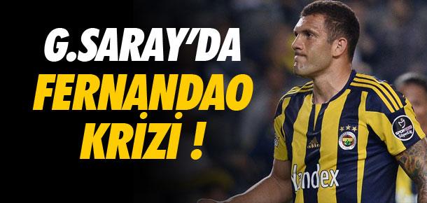 Galatasaray'da Fernandao krizi