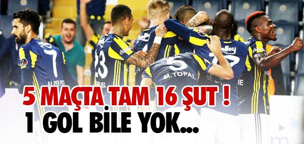 Volkan Şen 16 şutta 1 gol atamadı !