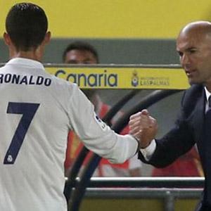 Ronaldo'dan Zidane'a küfür !