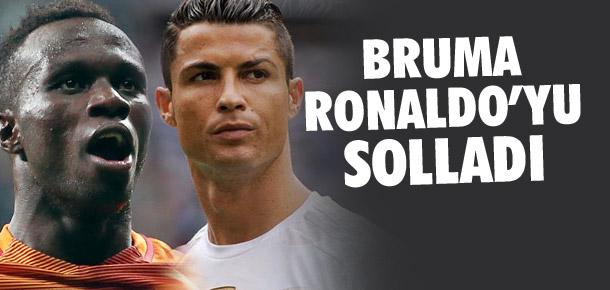 Bruma, Ronaldo'yu solladı