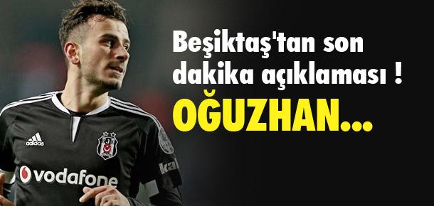 Beşiktaş'tan Oğuzhan Özyakup açıklaması