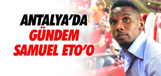 Antalyaspor'da gündem Samuel Eto'o