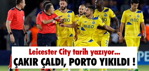 Cüneyt Çakır çaldı, Porto yıkıldı !