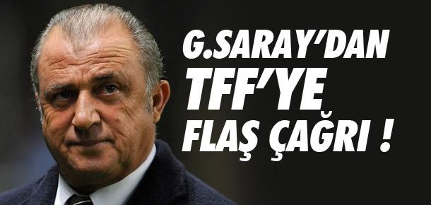 Galatasaray'dan TFF'ye flaş çağrı
