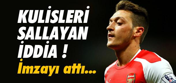 ''Arsenal Mesut Özil'le sözleşme uzattı''