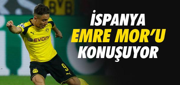 İspanya Emre Mor'u konuşuyor !