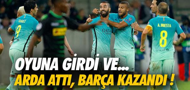 Arda attı, Barça kazandı !