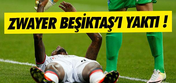Hakem Beşiktaş'ı yaktı !