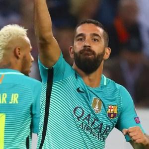 Gol sevincini sosyal medyadan paylaştı