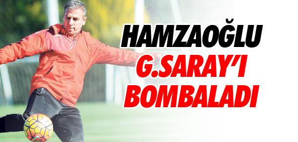 Hamzaoğlu Galatasaray'ı bombaladı !