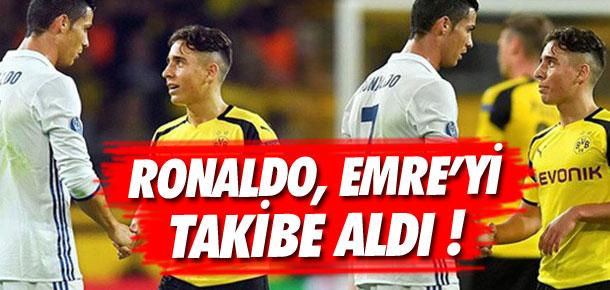 Ronaldo, Emre Mor'u takibe aldı !