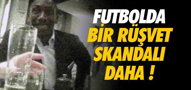 Futbolda bir rüşvet skandalı daha !