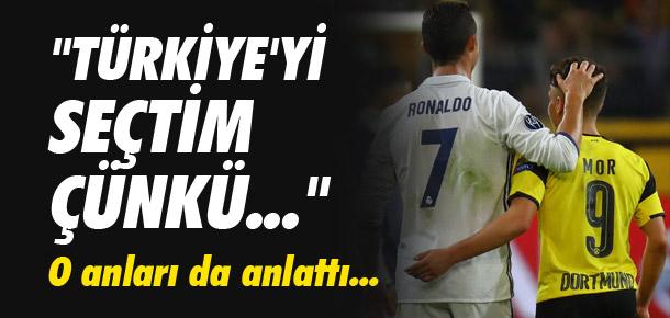 ''Ronaldo bana söz verdi...''