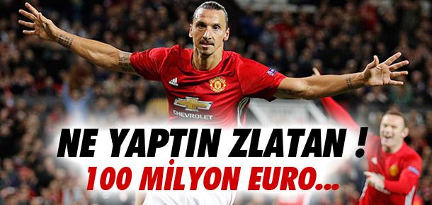 100 milyon euroyu elinin tersiyle itti