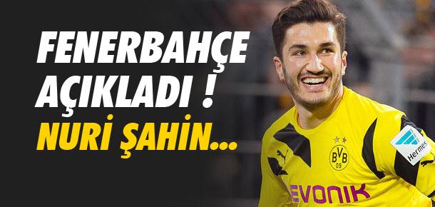 Fenerbahçe'den Nuri Şahin açıklaması