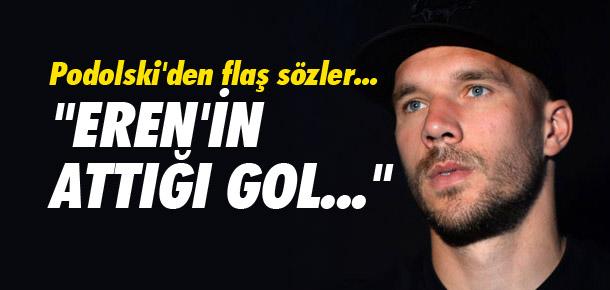 Podolski'den samimi açıklamalar