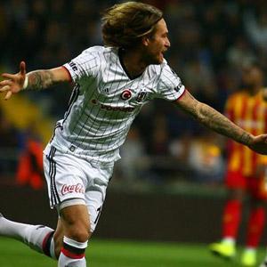 Beşiktaş 3 puanı tek golle kazandı