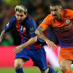 Barcelona, Manchester City'yi dağıttı