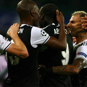 Napoli-Beşiktaş capsleri