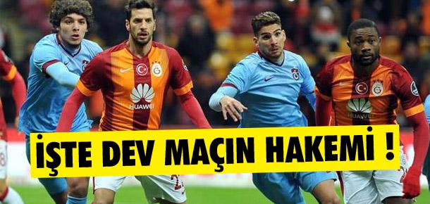 Galatasaray-Trabzonspor derbisi Fırat Aydınus'un