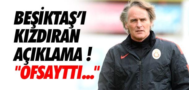 ''Beşiktaş'ın 3. golü ofsayttı''