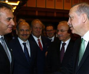 Cumhurbaşkanı Erdoğan Fikret Orman'ı tebrik etti