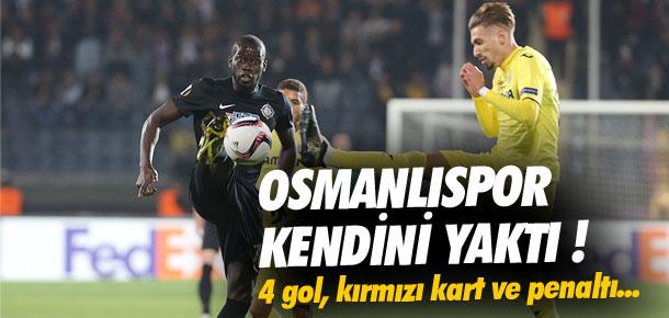 Osmanlıspor kendini yaktı !