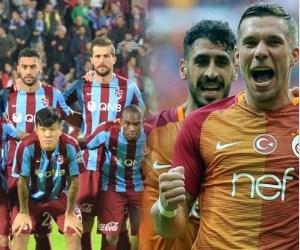 Galatasaray ile Trabzonspor 87. randevuda