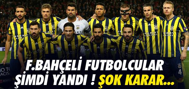Fenerbahçeli futbolculara ceza kapıda
