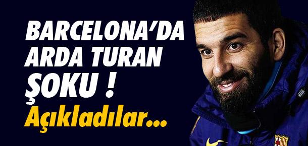 Arda Turan şoku !
