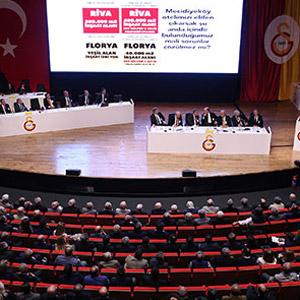 Galatasaray'ın tarihi genel kurulu başladı