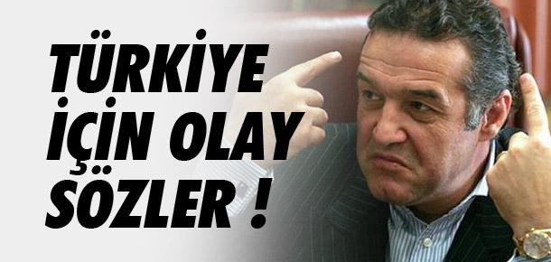 Becali'den Türkiye için olay sözler !