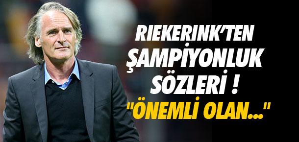 Riekerink'ten Trabzonspor yorumu !