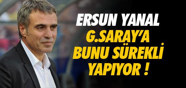 Galatasaray'a bunu hep yapıyor