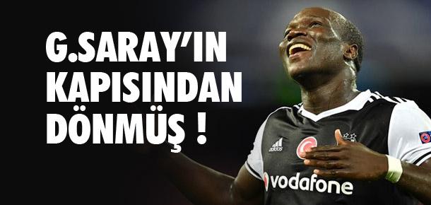 Aboubakar Galatasaray'ın kapısından dönmüş