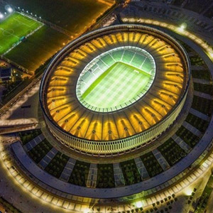 İşte dünyanın en lüks stadı ! Türkler yaptı
