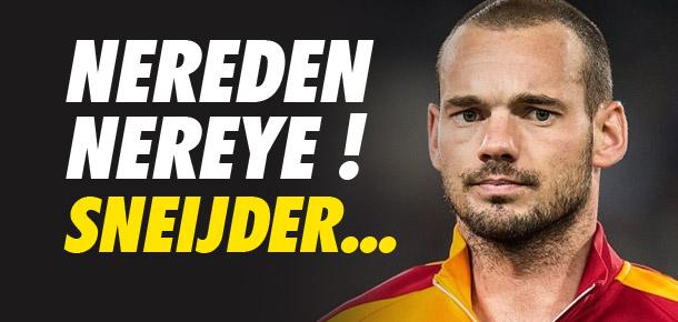 Nereden nereye ! Sneijder...