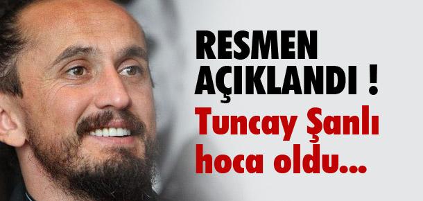 Tuncay Şanlı Sakaryaspor'un başında !