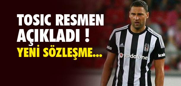 Tosic'ten sözleşme açıklaması !