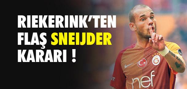 ''Sneijder Adana'da lazım değil''